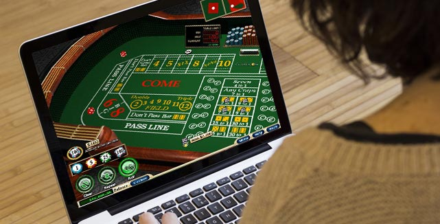 Online gambling games played